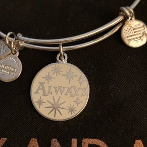 Alex and Ani Harry Potter ALWAYS Bracelet